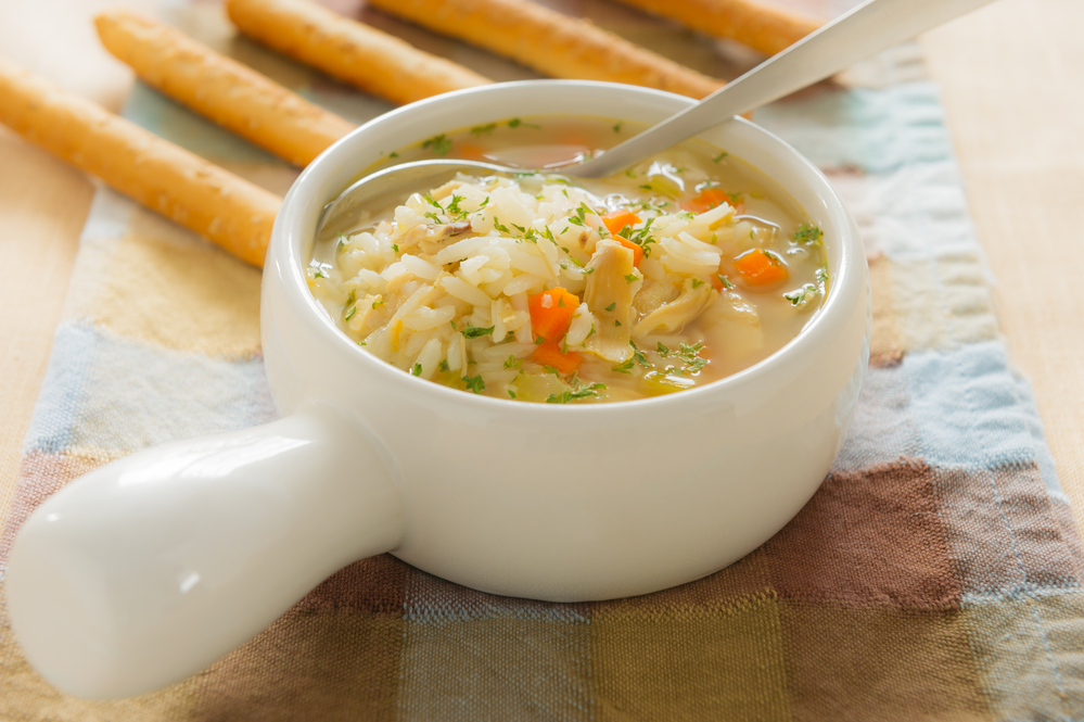 Chicken Soup with Rice for Babies