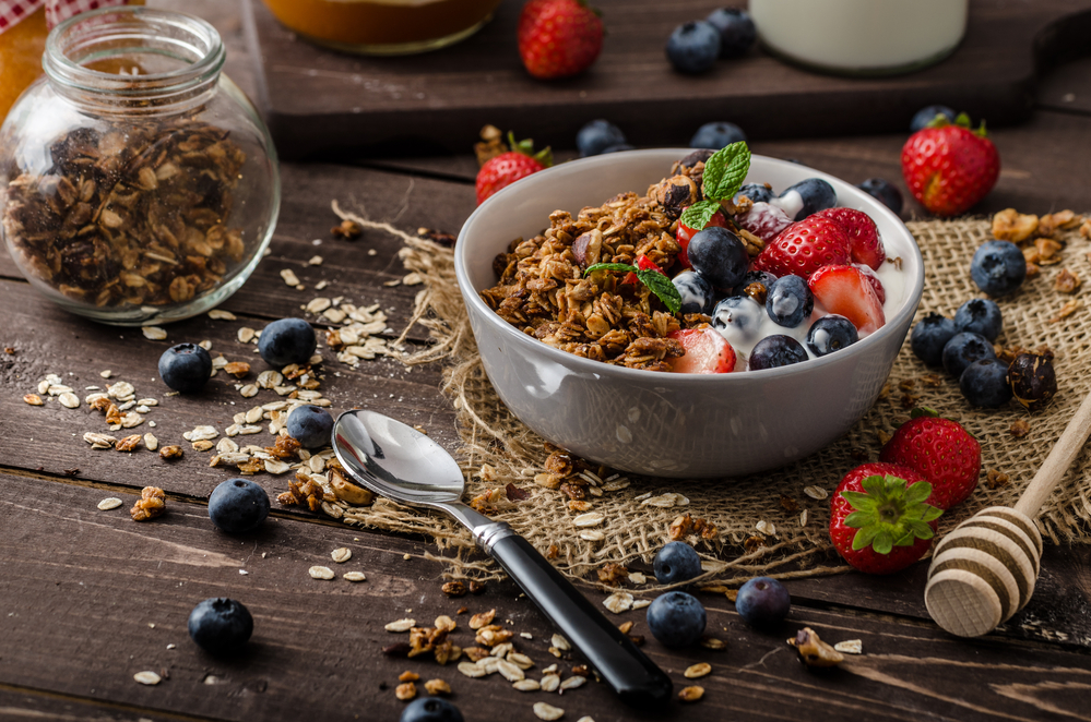 Homemade Low Fat Granola