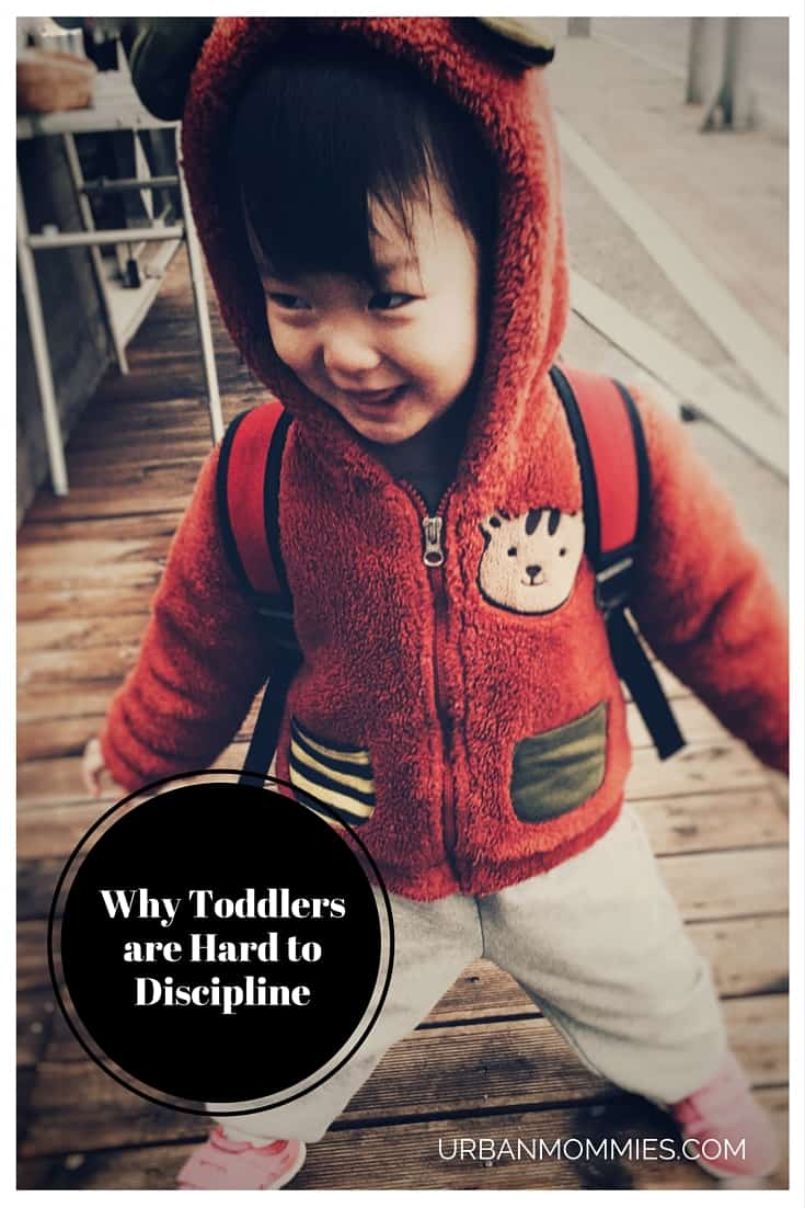Why toddlers are hard to discipline