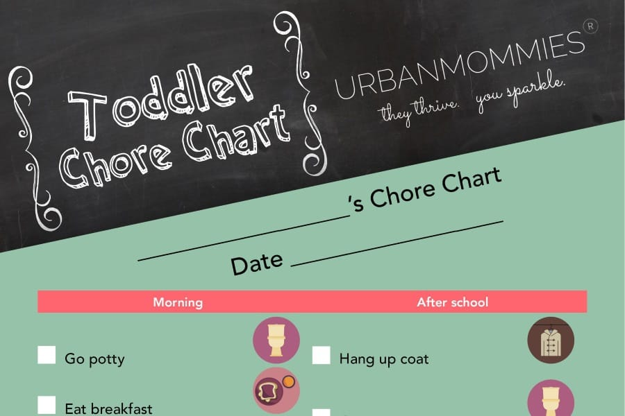 Get them doing chores with this chore chart, and you won't regret it. Pretty soon they may be polishing your silver.