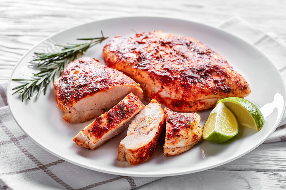 Far Eastern Spiced Chicken Breasts