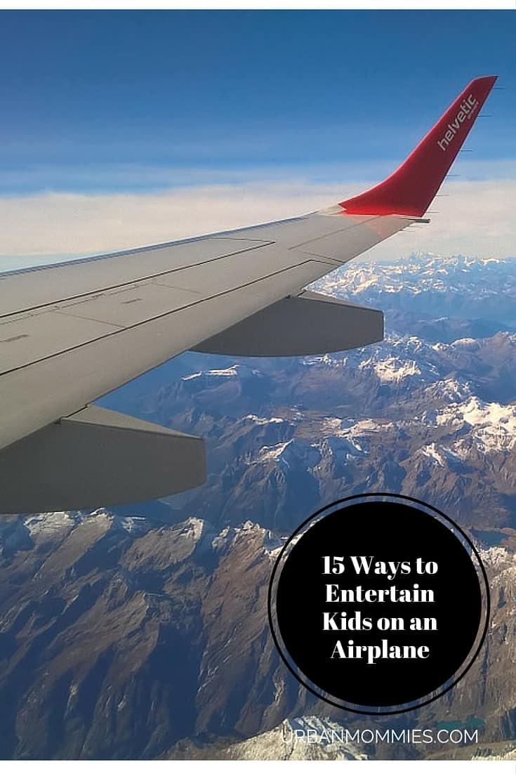 15 ways to entertain kids on an airplane (1)