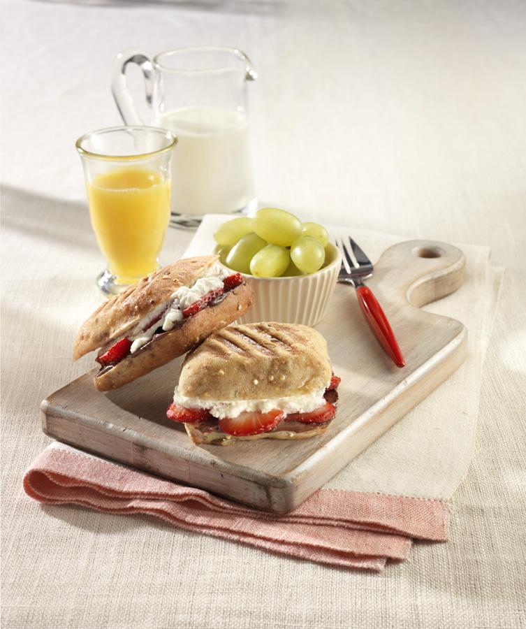 Ricotta Mini Panini Sandwiche