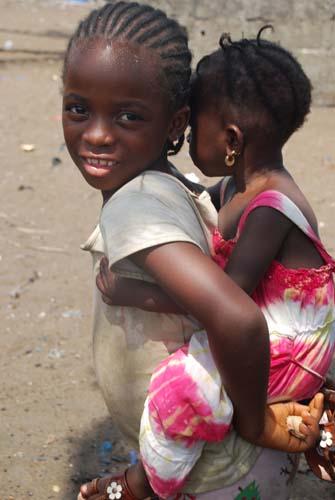 Claratown children
