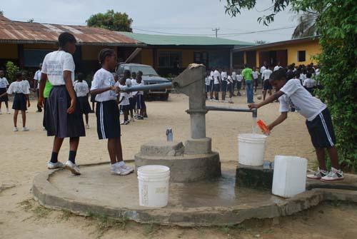 liberia water well