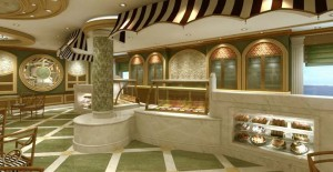 Royal Princess Gelato Bar