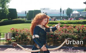 Merida with Bow