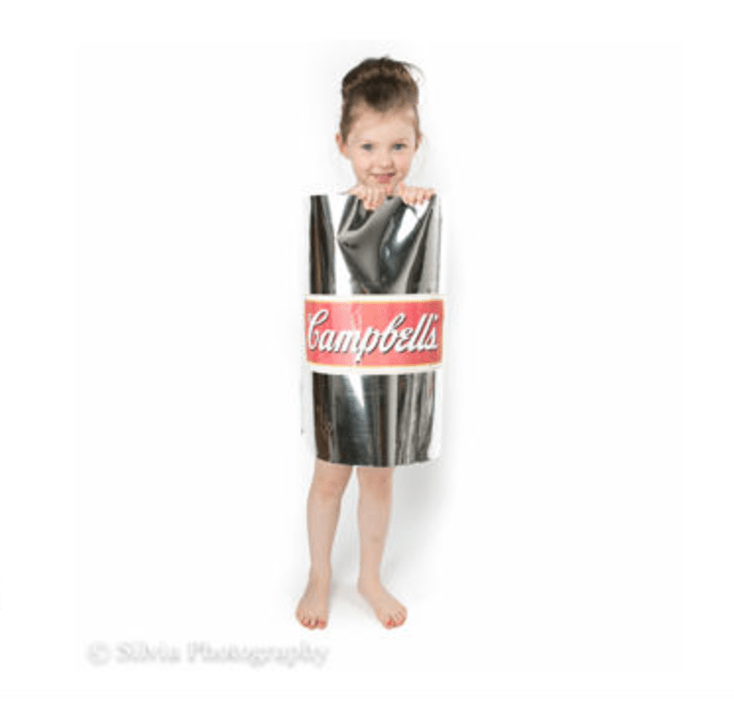 diy campbells soup can costume