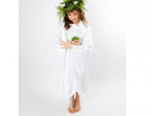 diy earth goddess costume