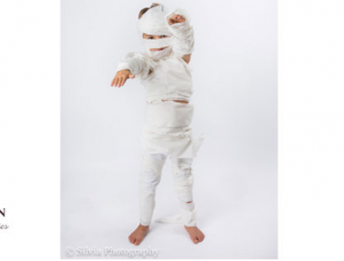 diy mummy costume