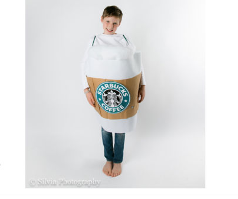 diy starbucks cup costume