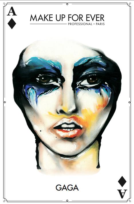 Gaga Halloween Makeup