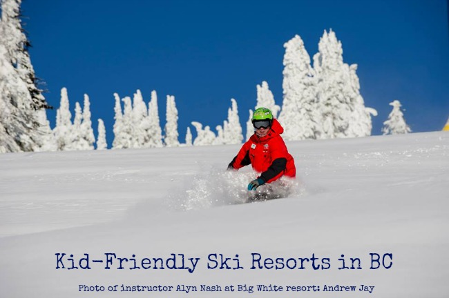 Kid friendly Ski Resorts in BC
