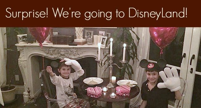 Disneyland Surprise