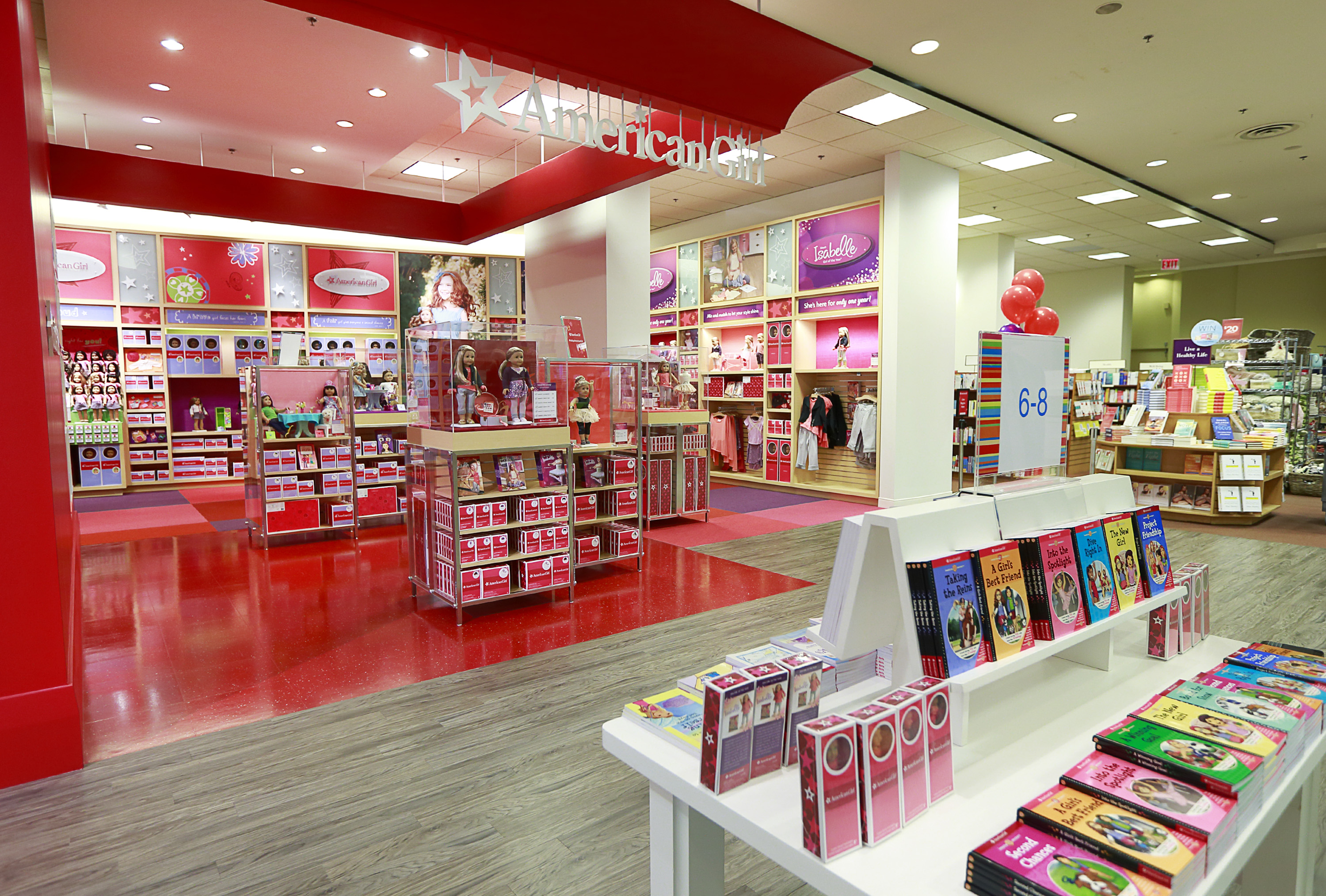 Launch of the American Girl store in Vancouver