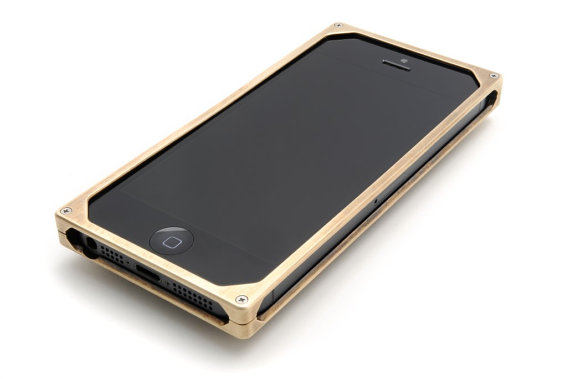 Minimalist Brass iPhone case