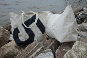 Recycled Sail Diaper Bag
