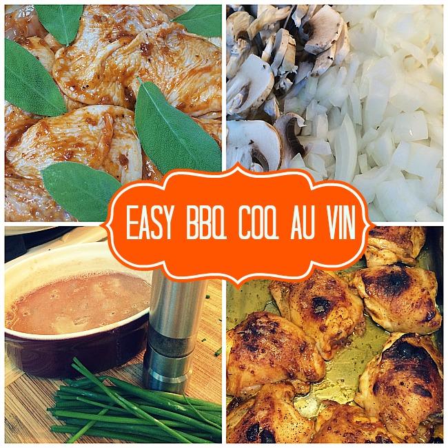 Easy BBQ Coq au Vin