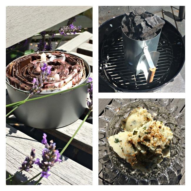 Firestarter and Garlic Kale Potatoes