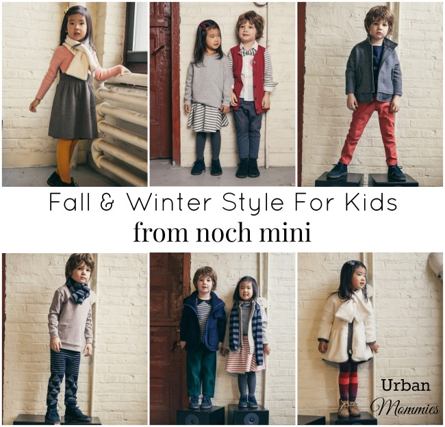 Fall and Winter Style for Kids From Noch Mini