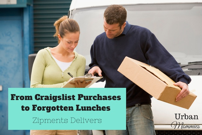 From Craigslist Purchases to Forgotten Lunches Zipments Delivers