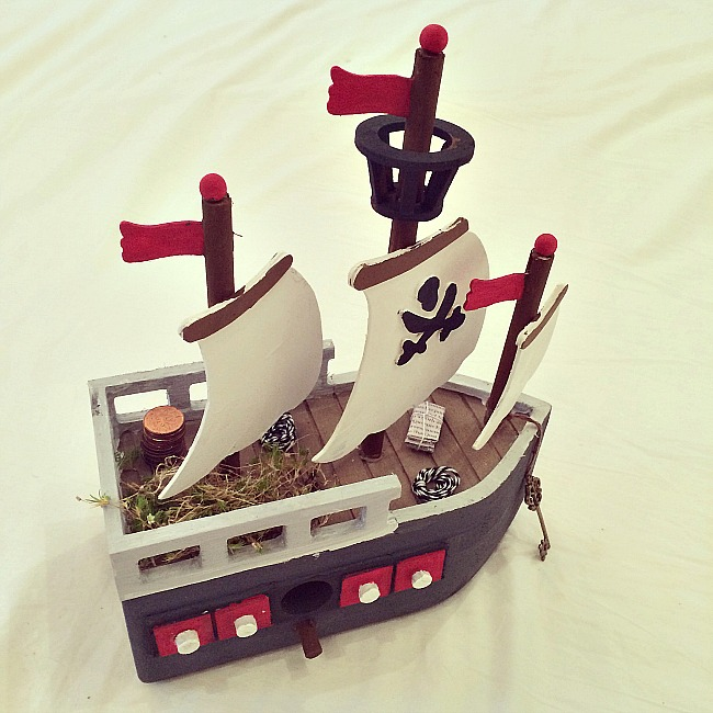 Pirate Fairy House