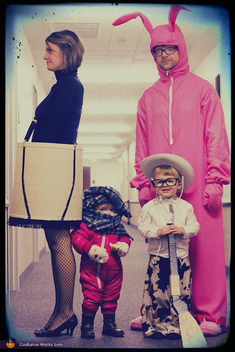 A Christmas Story Family Halloween Costume