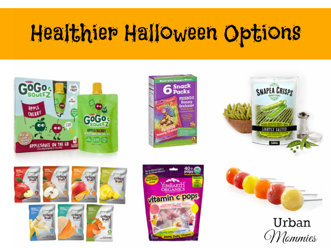 Healthier Halloween Options from Urban Mommies