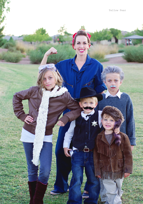 Historical Figures Family Halloween Costume