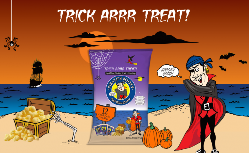Pirate's Booty Halloween Snack Pack