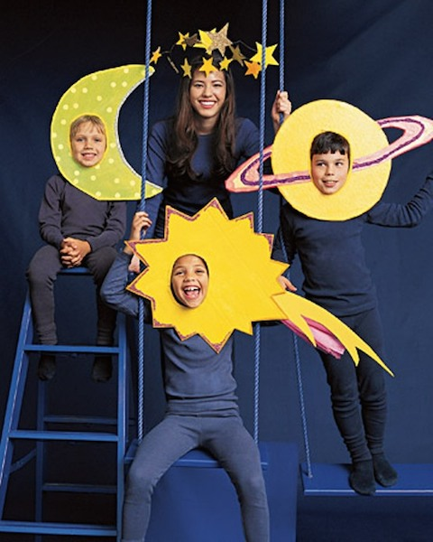 Solar System Family Halloween Costume