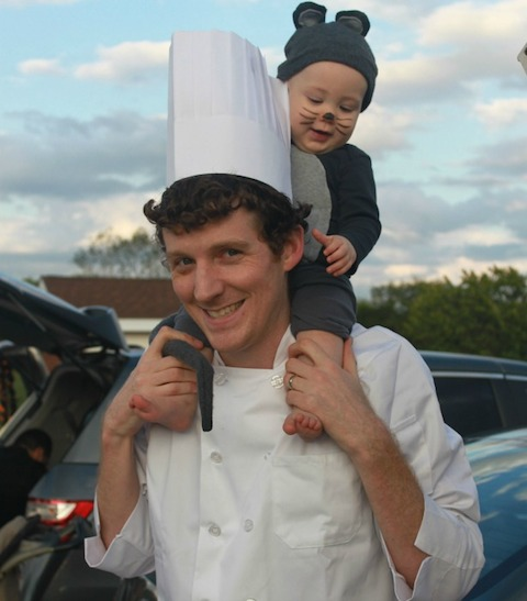 ratatouille family halloween costume