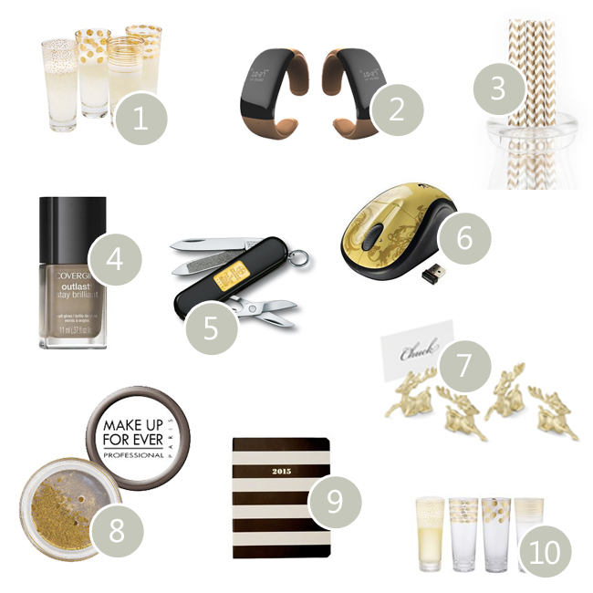 Gold Hostess Gifts