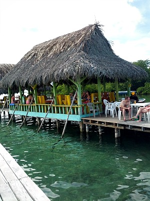 Panama Overwater Bar