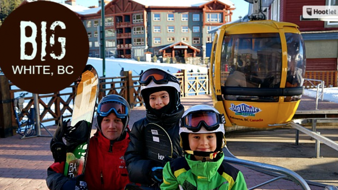 Kids at Big White