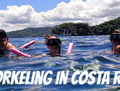 Snorkelling in Costa Rica