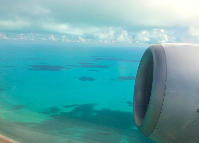 Turks and Caicos Plane