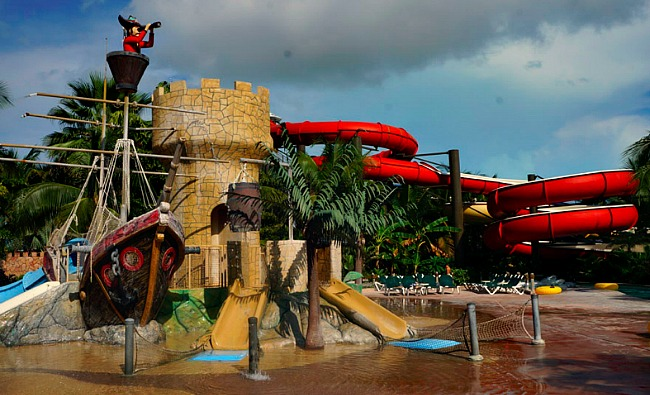 Pirate Waterslides Beaches