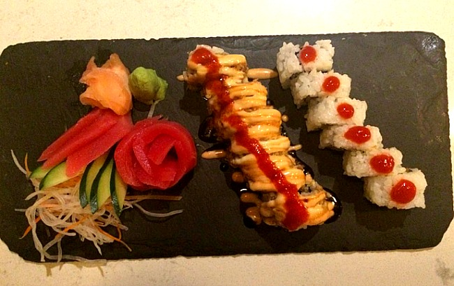 Sushi at Beaches Turks and Caicos