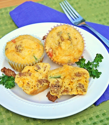 Savoury School Lunch Muffins