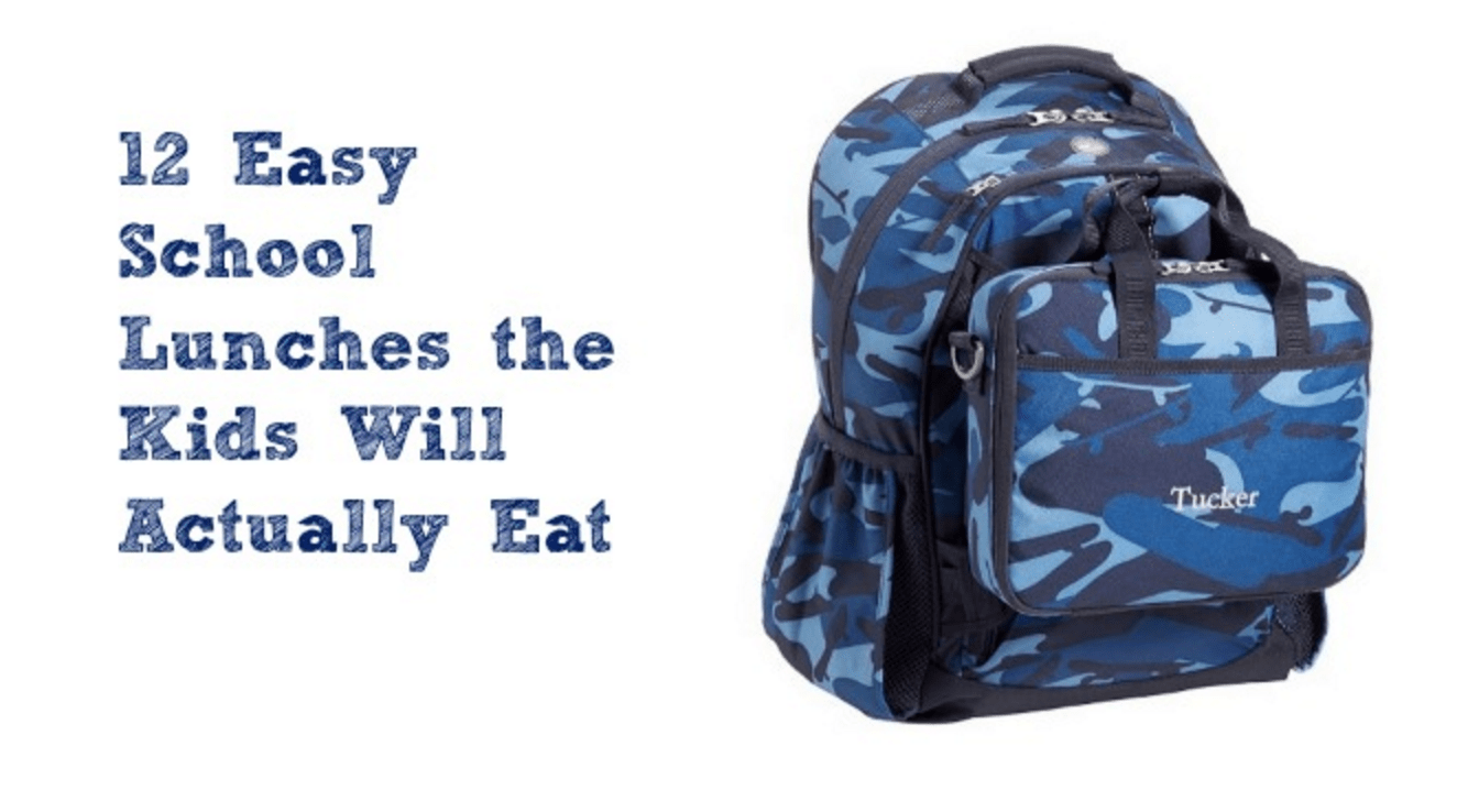 Easy School Lunches