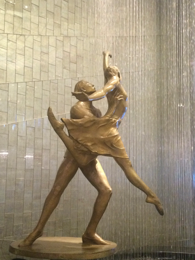 Crystal Cruises Ballet Statue