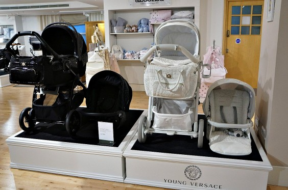 Luxury Strollers Young Versace