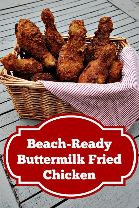 Beach Ready Buttermilk Fried Chicken