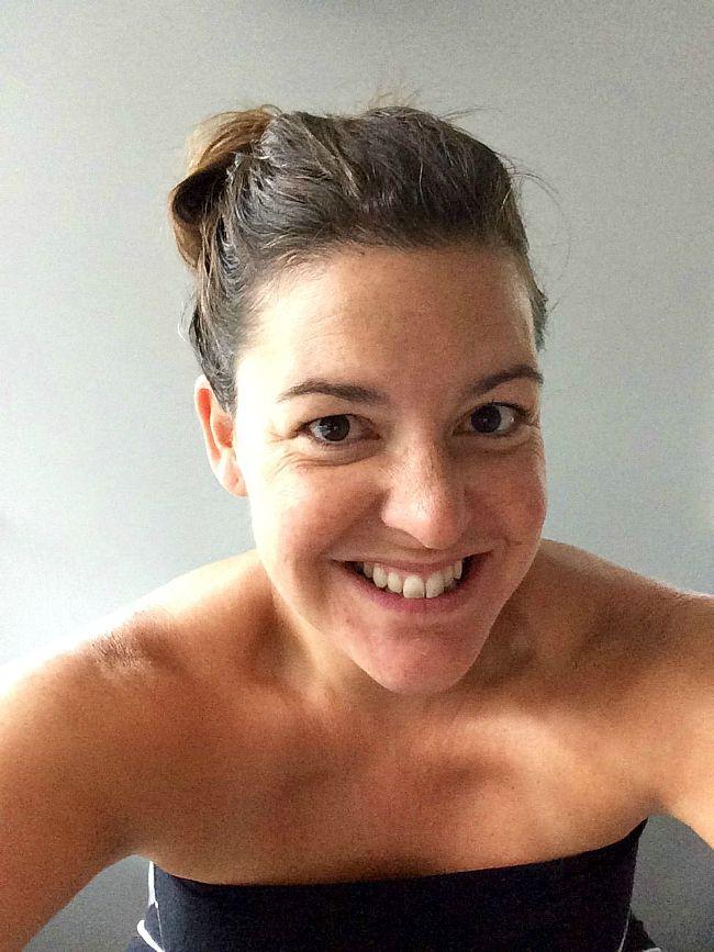 Jill No Makeup Selfie