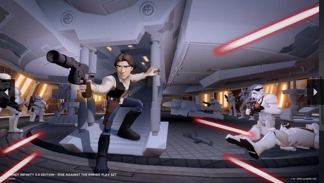 Disney Infinity Start Wars Graphics