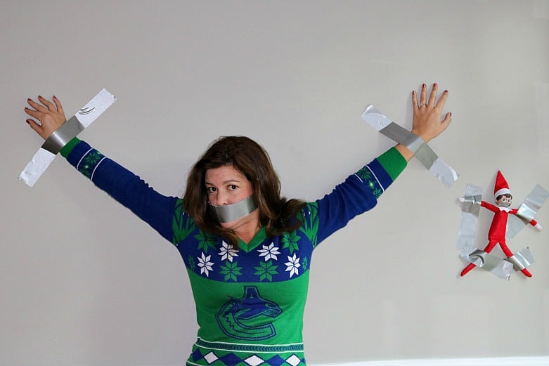 Duct Tape Elf