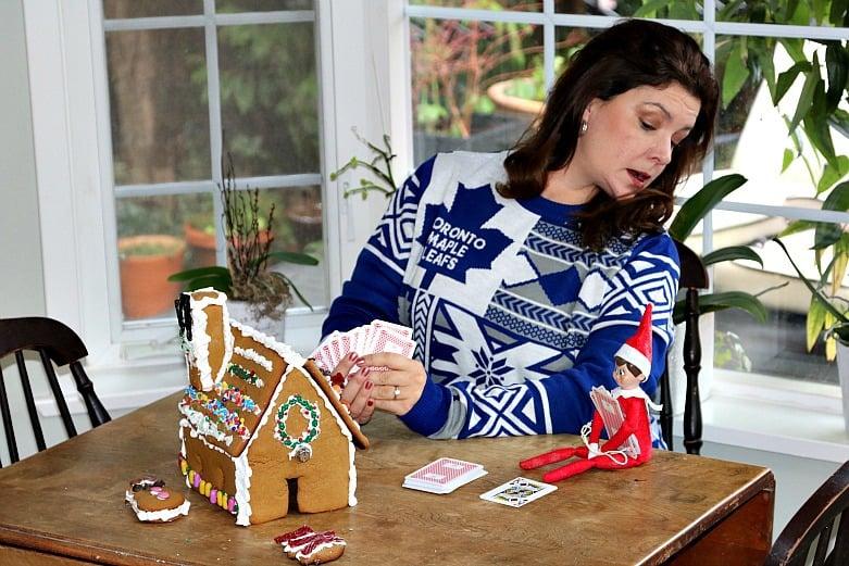 Elf At Cards