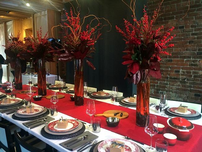Formal Christmas Table