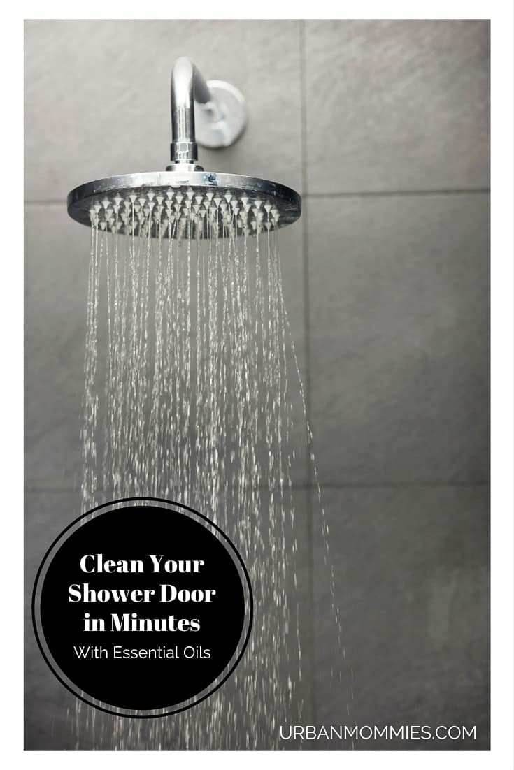 Clean Your Shower Doors In Minutes With Essential Oils